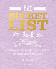 Bucket List boek voor grootouders