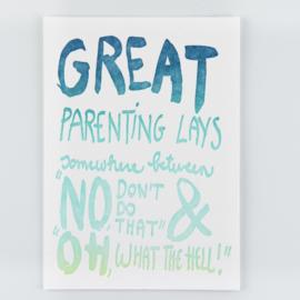 PEPTALK FOR PARENTS - Set van 10.