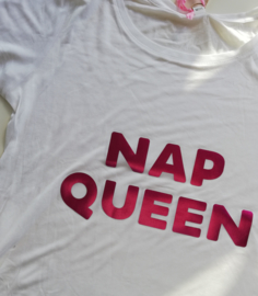 Homewear T-shirt 'Nap Queen'