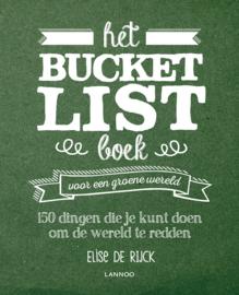Bucket List boek voor een groene wereld