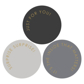 Stickers - Modern Gold for you- set van 3