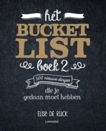 Bucket List boek 2