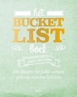 Bucket List boek voor vrienden