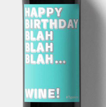Happy birthday - blah blah blah