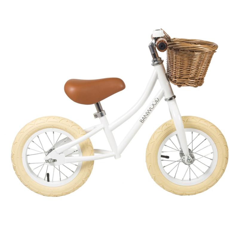 Balance Bike - First Go - White