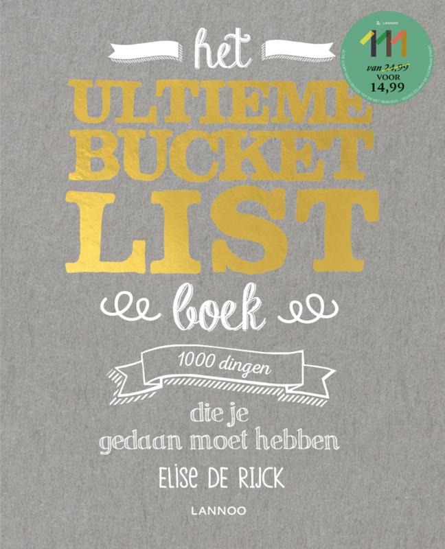 Het Ultieme Bucket List boek