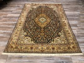 Kashan Zijde Tapijt