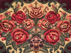 Kelim met rozen