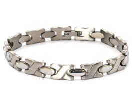 Stainless Steel Herenarmband 08058
