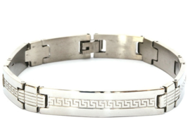 Stainless Steel Herenarmband 08059