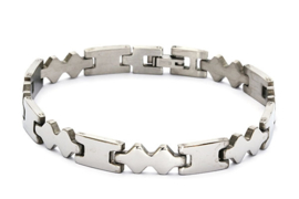 Stainless Steel Herenarmband 08061