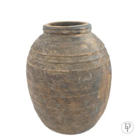 Nepalese pot met ovale vorm