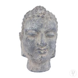 Stenen Boeddha hoofd (L)