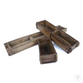 Oude Houten steenmallen 1 of 3 vakken