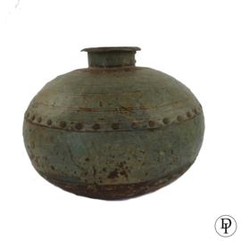 Metalen waterkruik uit India