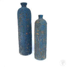 Verweerde aardewerk fles kruik