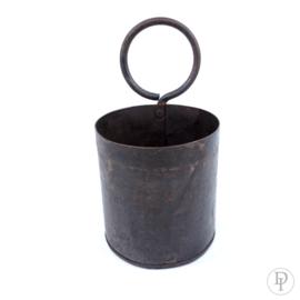 Metalen bakje met ring uit India