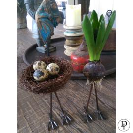 Vogelpootjes met schroefdraad