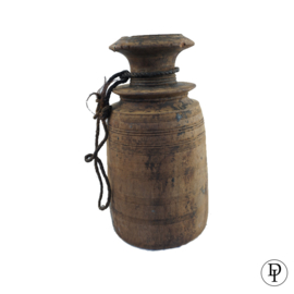 XL Nepalese Pot Kruik met aparte hals