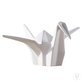 Porseleinen Chinese origami kraanvogel