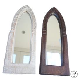 Leuke houten Spiegeltjes uit India
