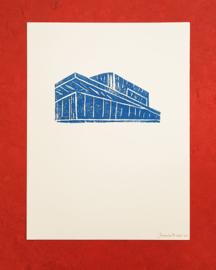 Linodruk zonder titel - Jacqueline Brincker