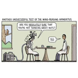 'Department of Mind-Blowing Theories' - Tom Gauld