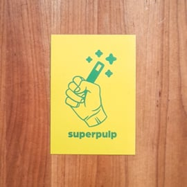 Ansichtkaarten set - Superpulp