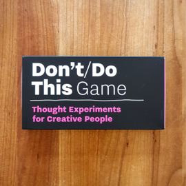 Don't/Do This Game - Donald Roos