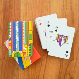 Frank Lloyd Wright Playing Cards