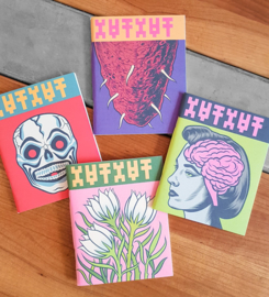 Set van 4 schetsboekjes - Charles Burns