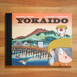 'Yokaido' - Shigeru Mizuki | Utagawa Hiroshige