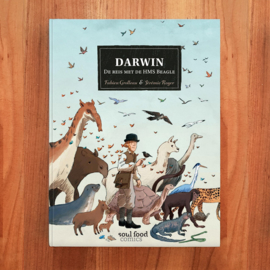 'Darwin: De reis met de HMS Beagle' - Fabien Grolleau | Jérémie Royer
