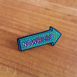 Pin 'Nowhere' - Jess Wilson