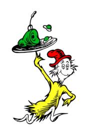 'Green Eggs and Ham' - Dr. Seuss