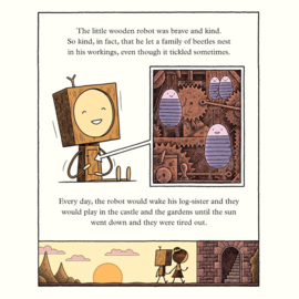 The Little Wooden Robot and the Log Princess - Tom Gauld