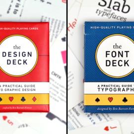 Design + Font Deck Combi
