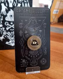 Arcane Bullshit - Eye Logo pin