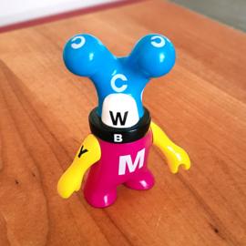 Geneviève Gauckler - CMYK Designer Toy