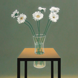 'Still-life with flowers' - P. Colstee