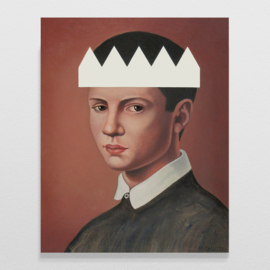 'Boy with white crown' - P. Colstee
