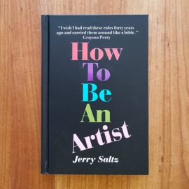 'How to Be an Artist' - Jerry Saltz