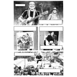 Willie Nelson: Een getekende levensgeschiedenis - diverse stripmakers