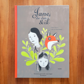 'Jane, de vos en ik' - Fanny Britt | Isabelle Arsenault