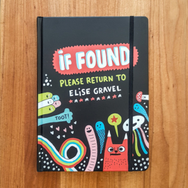 'If Found...Please Return to Elise Gravel' - Elise Gravel