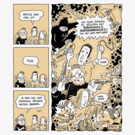 Mini comic – Bob Op 't Land