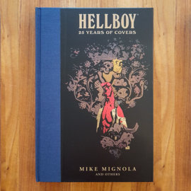 'Hellboy: 25 Years of Covers' - Mike Magnola and others