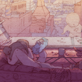 'Square Eyes' - Anna Mill | Luke Jones