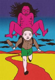 'Rêve écarlate' - Toshio Saeki