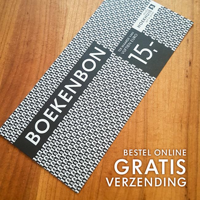 Studio Hoekhuis Boekenbon - gratis verzending